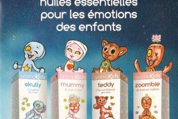 AROMAKIDS sprays aux huiles essentielles pour les émotions des enfants